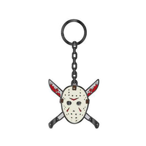 Friday the 13th Jason Mask Enamel Key Chain