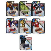 Hot Wheels Marvel Character Cars 1:64 Scale 2019 Wv. 1 Case