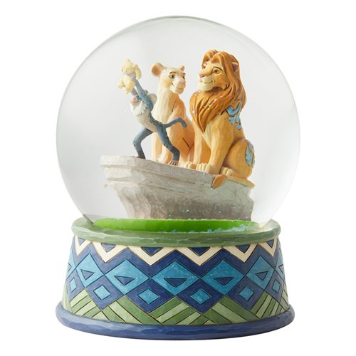 Disney Traditions Lion King Snow Globe