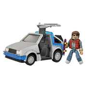 Back to the Future Time Machine #1 Minimates Vehicle