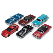 Auto World Premium 1:64 Scale Die-Cast Metal Vehicle Wave 1A Set