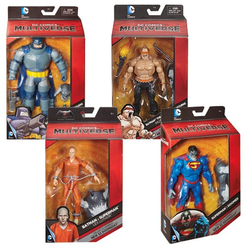 DC Comics Multiverse 6-Inch Action Figure Wave 4 Case
