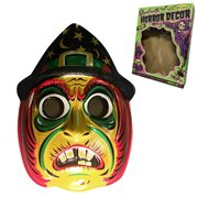 Ghoulville Magic Glitter Witch Vac-tastic Plastic Mask Wall Décor