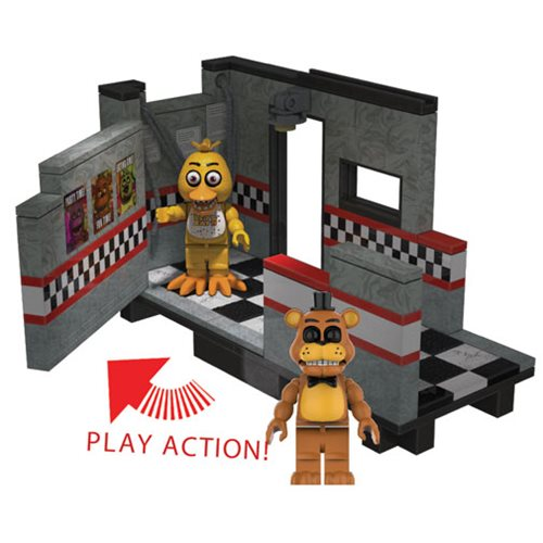 Five Nights at Freddy's East Hall Medium Construction Set