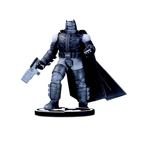 Batman Black and White Armored Batman by Frank Miller Statue