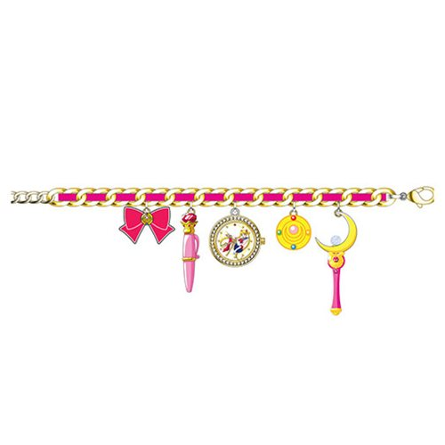 Sailor Moon Watch Charm Bracelet