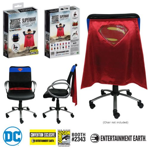 Justice League Movie Superman Chair Cape - Convention Exclusive