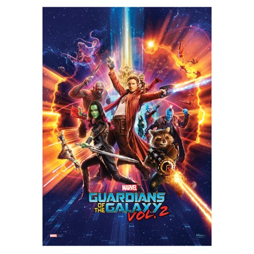 Guardians of the Galaxy Vol. 2 Saving the Galaxy MightyPrint Wall Art Print