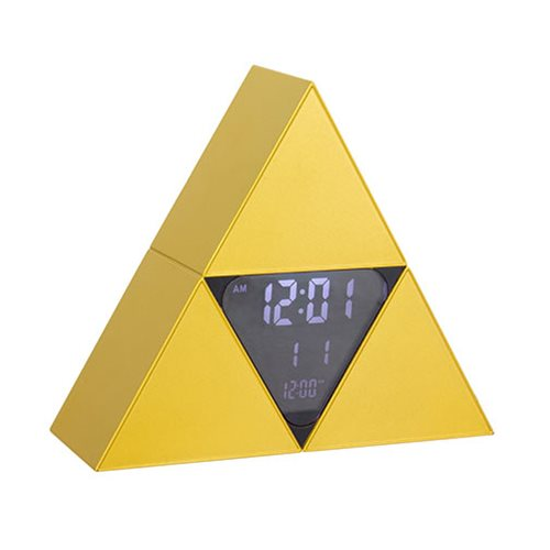 Legend of Zelda Triforce Alarm Clock
