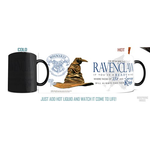 Harry Potter Sorting Hat Ravenclaw Morphing Mug
