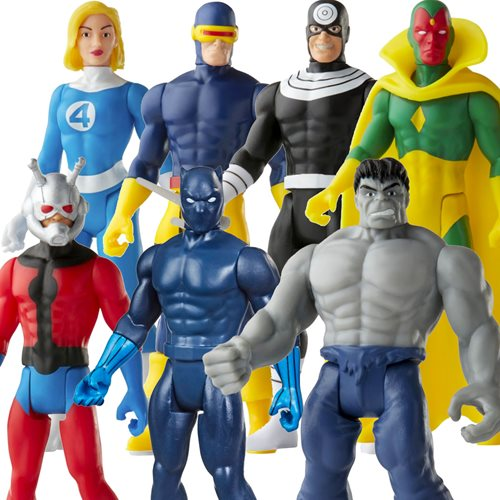 Marvel Legends Retro Collection Action Figures Wave 3 Case