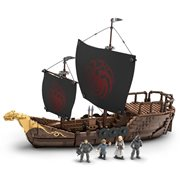 Game of Thrones Mega Construx Targaryen Ship Playset