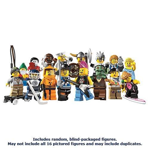 LEGO 8804 Minifigures Series 4 Display Box