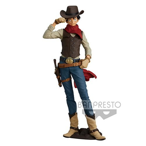 One Piece Treasure Cruise World Journey Vol.1 Monkey D.Luffy Statue