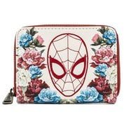 Spider-Man Floral Zip-Around Wallet