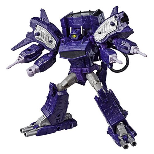 Transformers Generations War for Cybertron: Siege Leader Shockwave