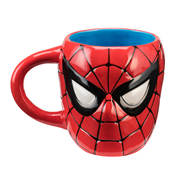 Spider-Man Sculpted Ceramic Mug