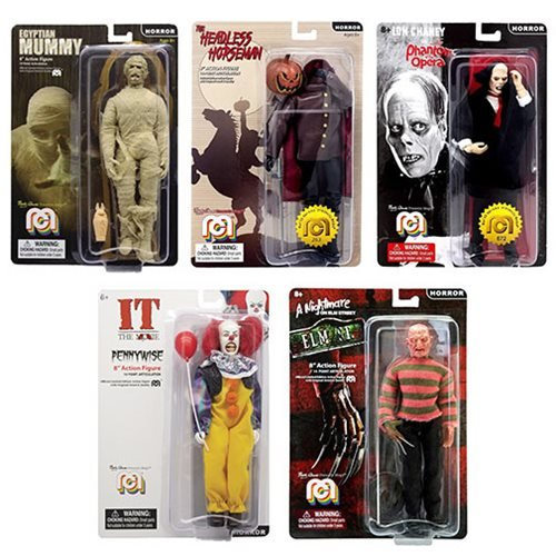 Horror Mego 8-Inch Action Figure Wave 7 5-Pack Set
