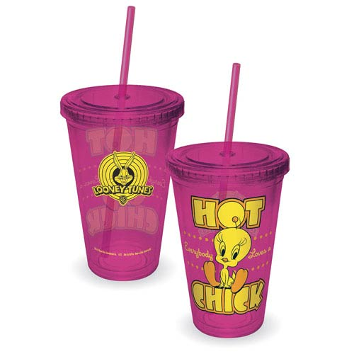 Looney Tunes Tweety Hot Chick Acrylic Travel Cup