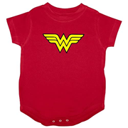Wonder Woman Logo Onesie