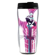 Spider-Man Spider-Gwen Phone Pole Plastic Travel Mug