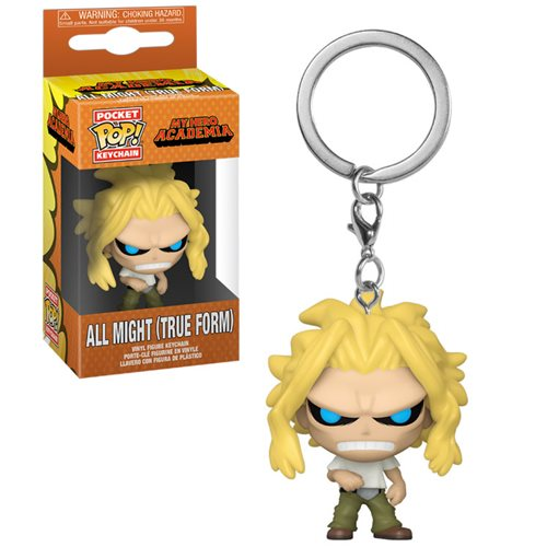 My Hero Academia All Might Weakened State Pocket Pop! Key Chain