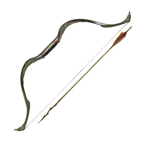 The Hobbit Bow and Arrow of Tauriel Prop Replica
