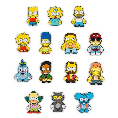 Simpsons Enamel Pin Series Random 4-Pack