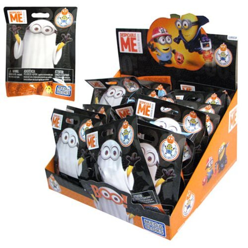 Mega Bloks Despicable Me Halloween Micro Action Figures Case