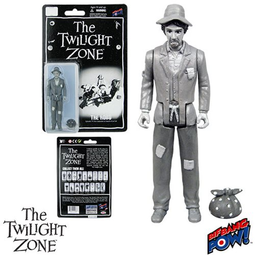 The Twilight Zone Five Characters in Search of an Exit Hobo 3 3/4-Inch Action Figure Series 3