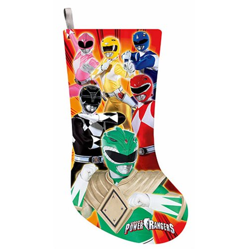 Power Rangers 19-Inch Printed Stocking