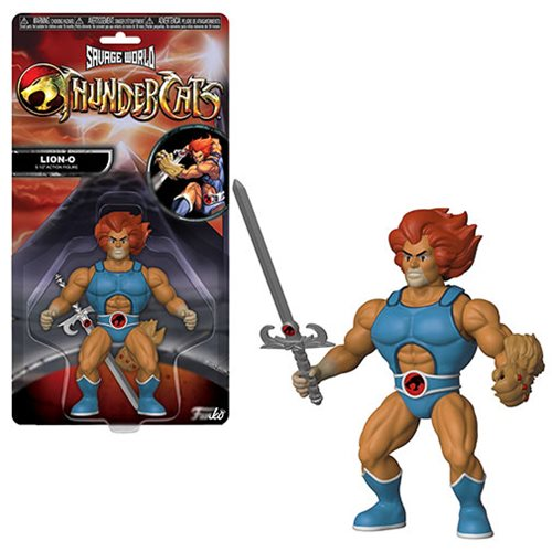 ThunderCats Lion-O Savage World Action Figure