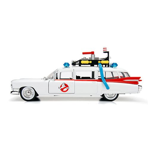 Ghostbusters Hollywood Rides ECTO-1 1:24 Scale Die-Cast Metal Vehicle