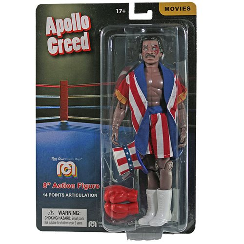 Rocky Apollo Creed Mego Action Figure 8-Inch Action Figure