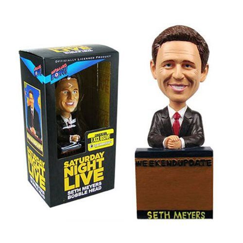 Saturday Night Live Seth Meyers Weekend Update Bobblehead - Convention Exclusive