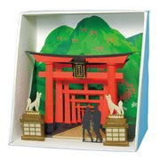 Inari Shrine Paper Nano Model Kit