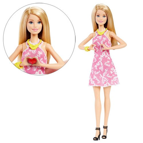 Barbie Heart Hands Doll