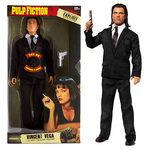 Pulp Fiction Vincent Vega 13-Inch Talking Action Figure