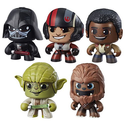 Star Wars Mighty Muggs Action Figures Wave 2 Case