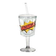 The Big Bang Theory Bazinga Insulated Goblet with Lid