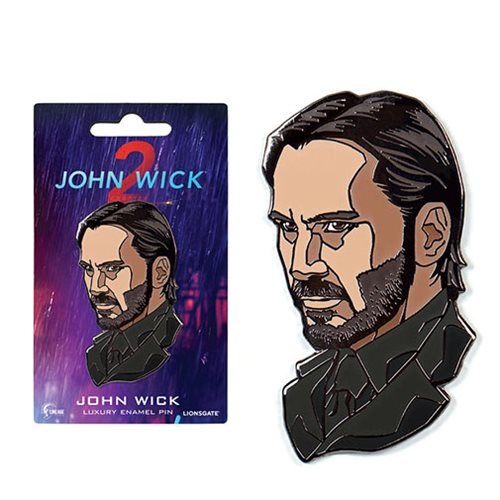 John Wick: Chapter 2 Luxury Enamel Pin
