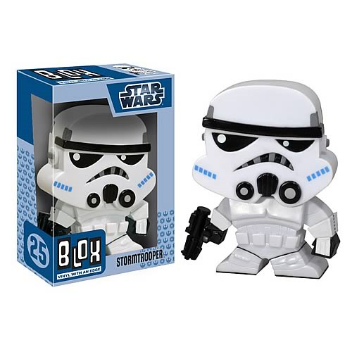 Star Wars Stormtrooper Blox Vinyl Figure Bobble Head