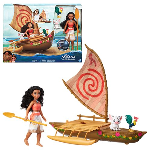 Moana Starlight Canoe and Friends