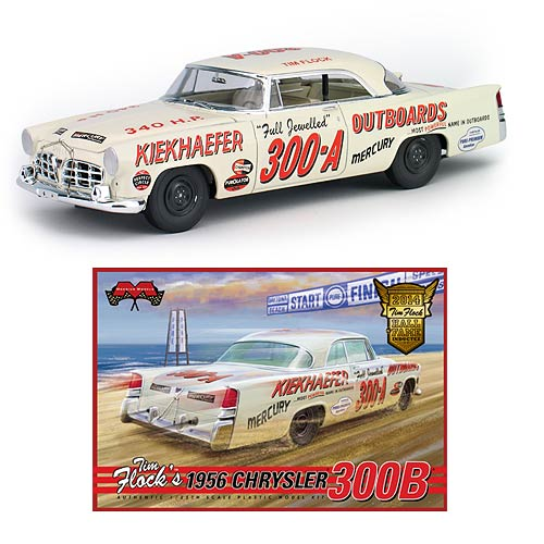 Chrysler 1956 300B Tim Flock 1:25 Scale Model Kit