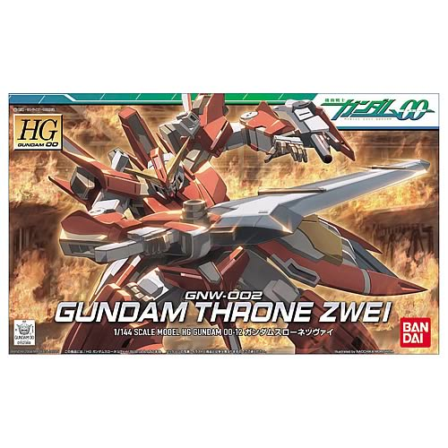Gundam 00 Throne Zwei 1:144 Scale Model Kit