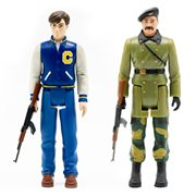 Red Dawn Matt and Ernesto 3 3/4-Inch ReAction Figure Set