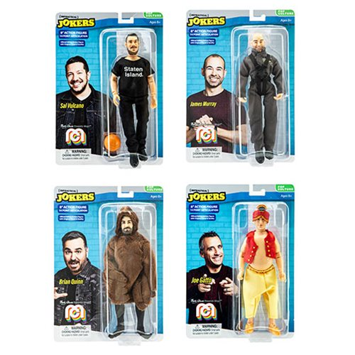 Impractical Jokers Mego 8-Inch Retro Action Figure Case