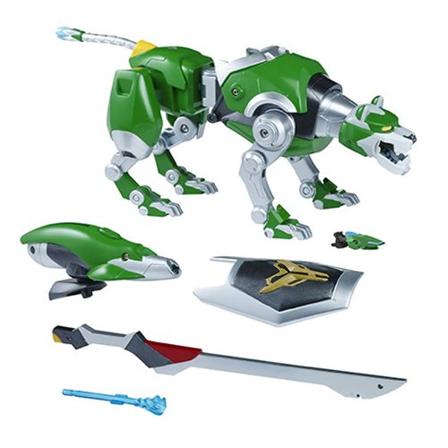 Voltron Green Lion Intelli-Tronic Figure, Not Mint