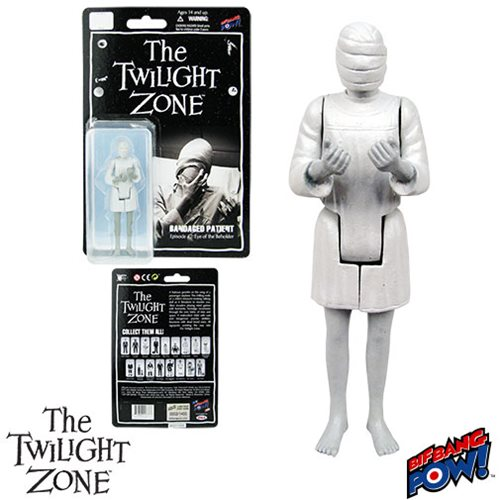 The Twilight Zone Eye of the Beholder Bandaged Patient 3 3/4-Inch Action Figure Series 2
