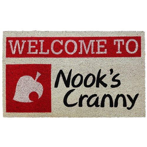 Animal Crossing: New Horizons Nook's Cranny Coir Doormat